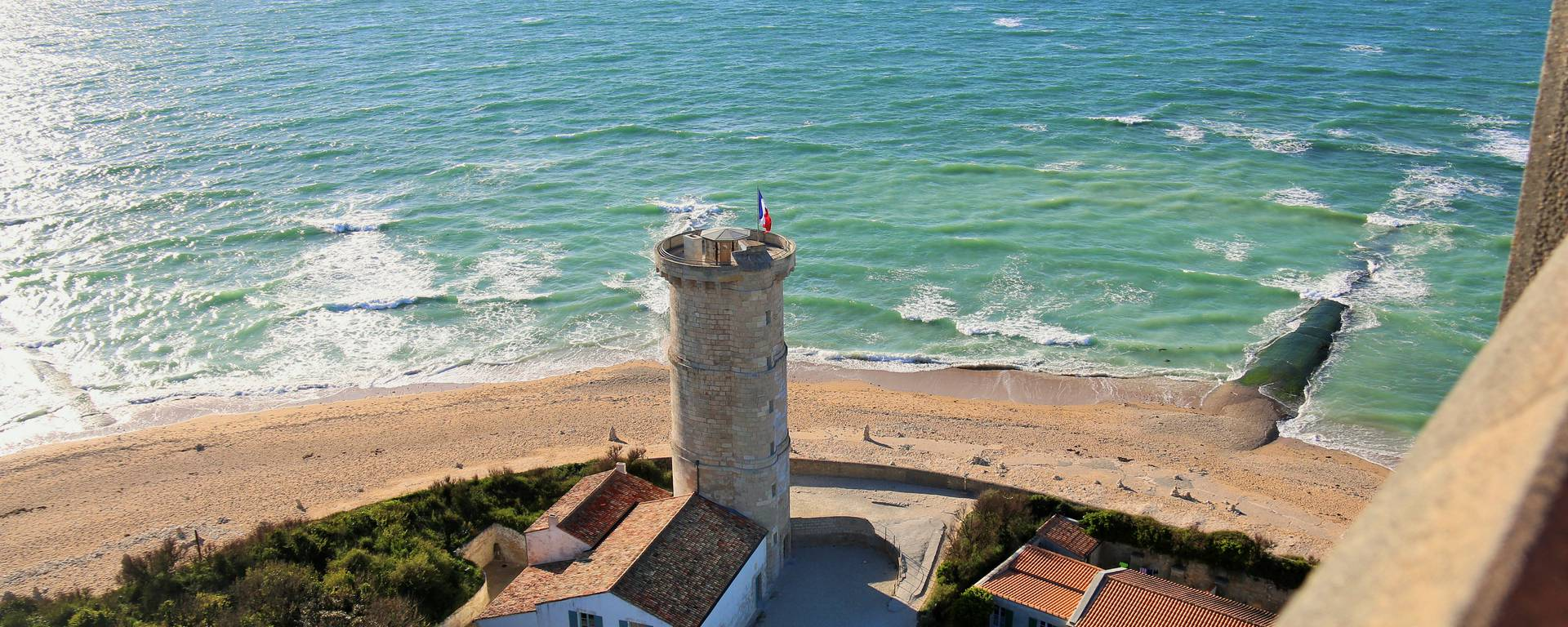 The Old Tower seen from the Lighthouse