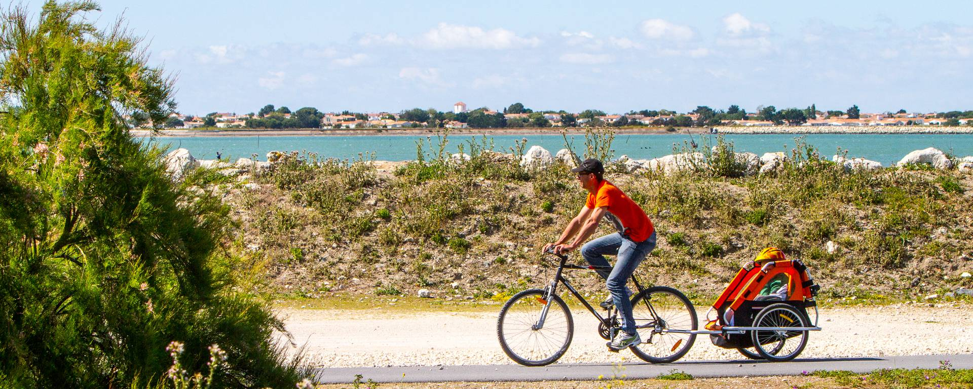 The bike paths on Île de Ré by François Blanchard