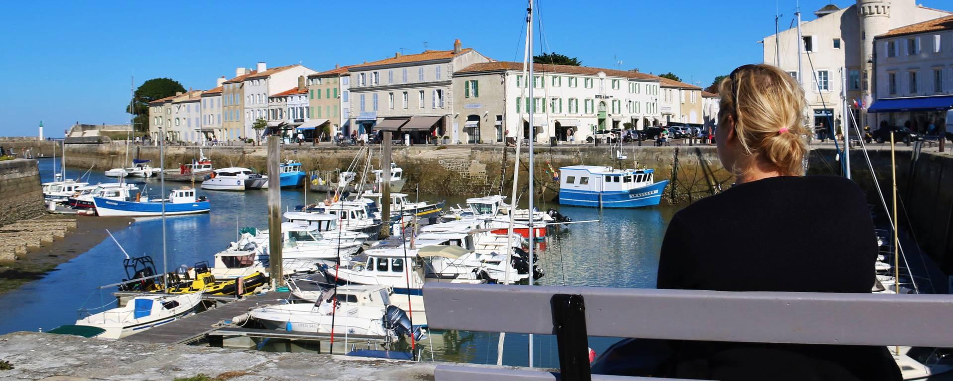 Harbor of Saint-Martin-de-Ré