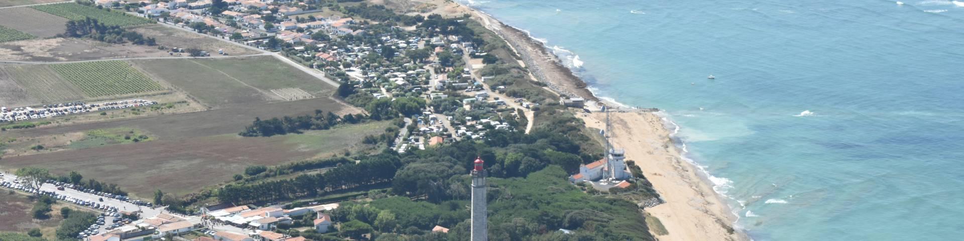 (c) vue aérienne