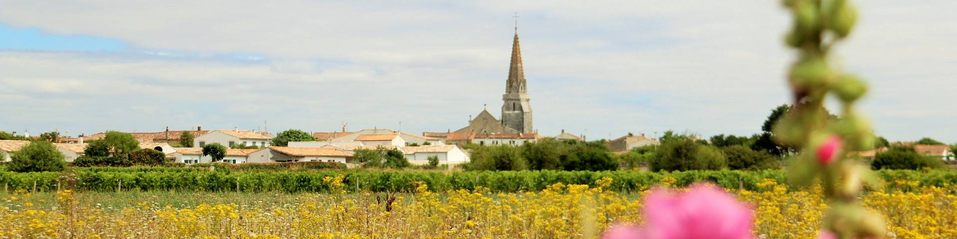 The city of Sainte-Marie-de-Ré