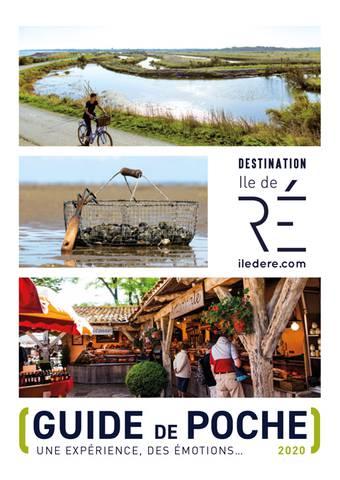 ©Destination Ile de Ré 2020 Front Cover Pocket Guide