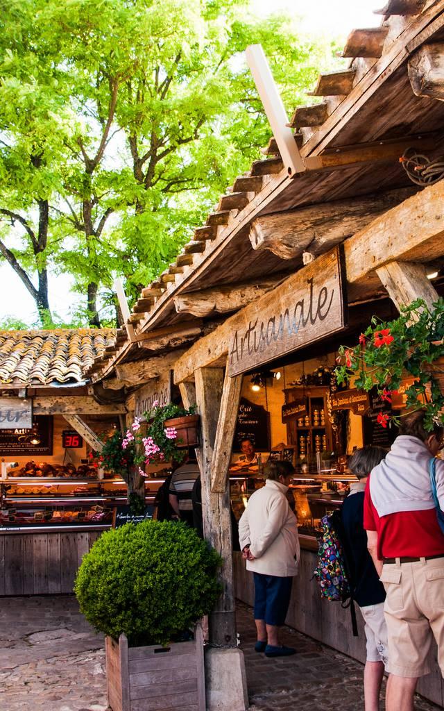 The market of La Flotte