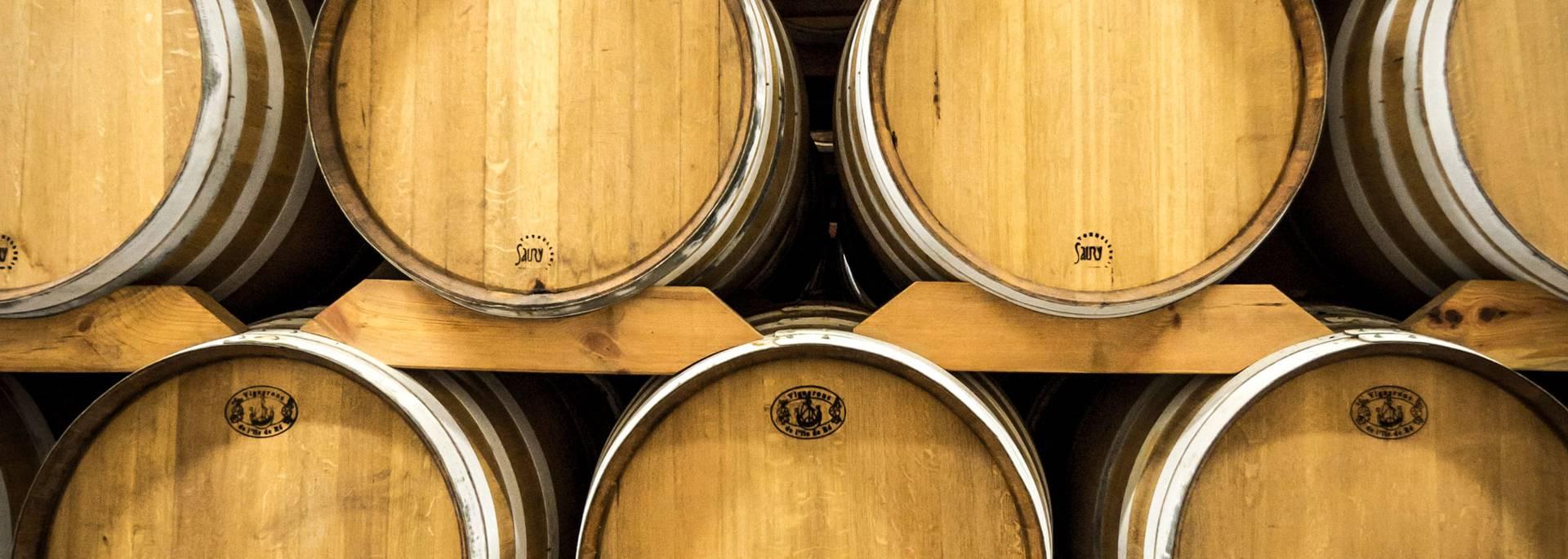 Les fûts de la coopérative des vignerons par ©Yann-Werdefroy