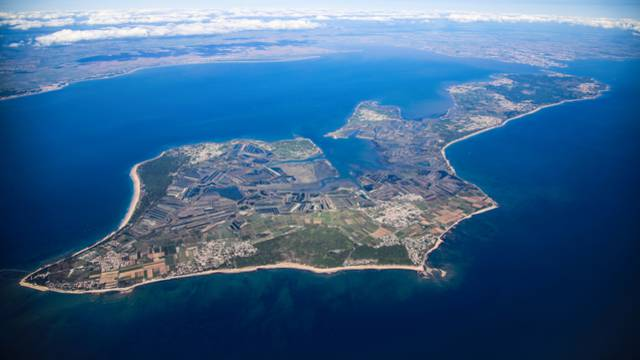 Bird's eye view of the Ile de Ré by Les Vols de Max