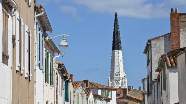 The bell tower of Ars-en-Ré