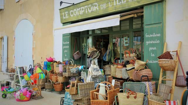 Shops and facilities in Saint-Martin-de-Ré