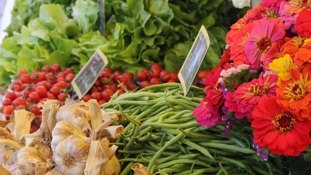 The markets in Sainte-Marie-de-Ré