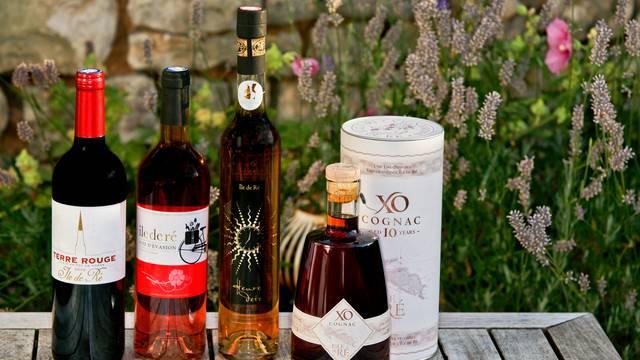 Les vins et spiritueux (cognac et pineau) - English