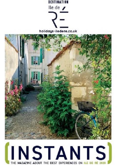 English magazine Ile de Ré