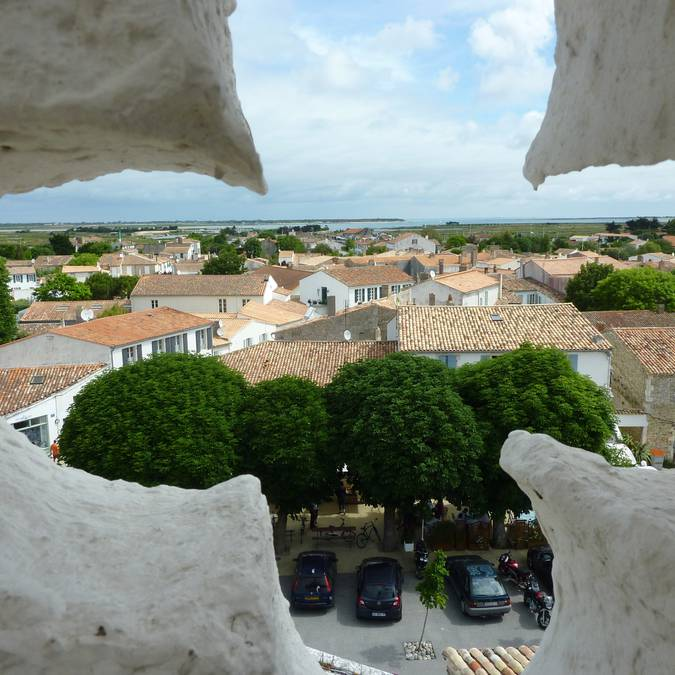 The bell tower of Ars-en-Ré ©Destination Ile de Ré